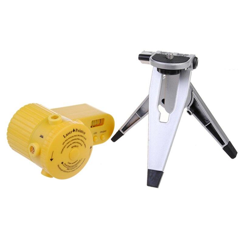 Mini Multifunktions-kreuzlinienlaser Laser Leveler Vertikale Horizontale Linie Werkzeug Mit Stativ