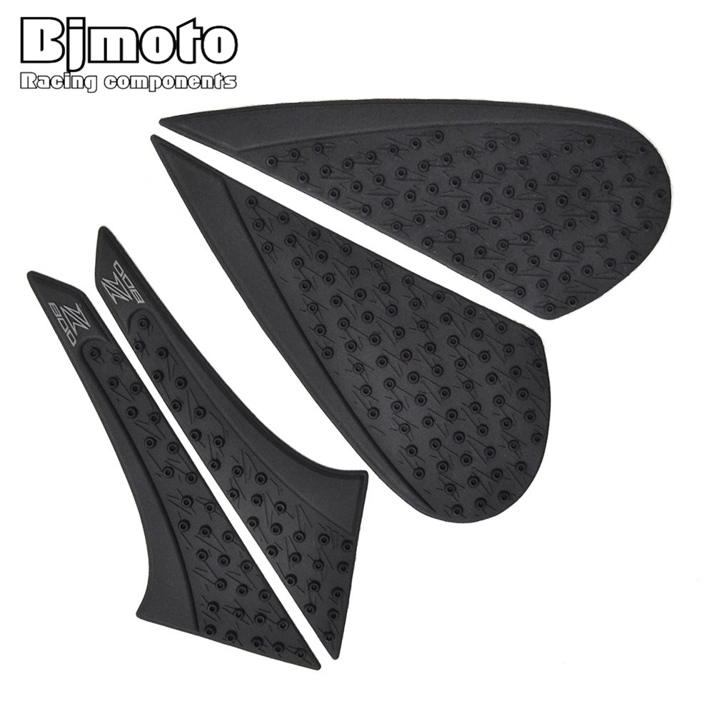 Frames & Fittings Automobiles & Motorcycles Constructive Tpp01-z800/13-bk Anti Slip Sticker Motorcycle Tank Traction Pad Side Knee Grip Protector For Kawasaki Z800 2013-2016 Modern Design