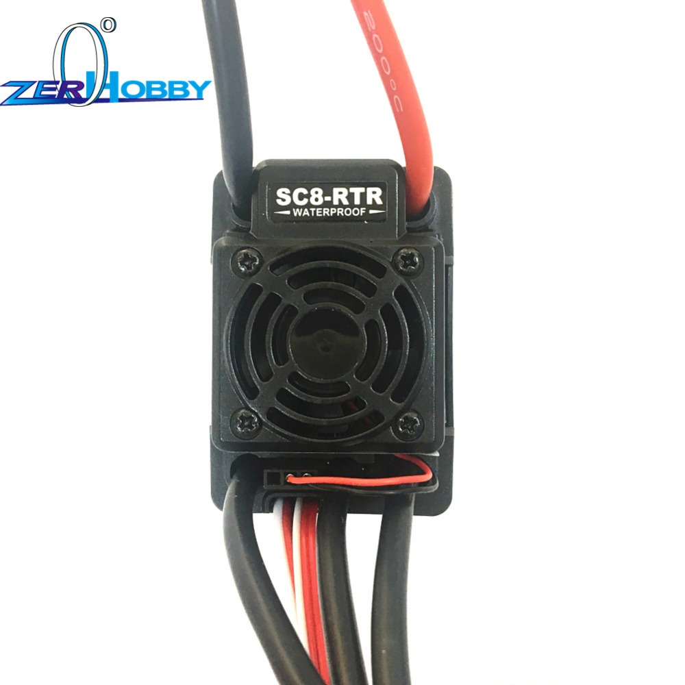 Hobbywing EZRUN ESC WP SC8 120A Waterproof Brushless For Traxxas Losi Redcat Car