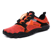 New Multifunction Unisex Hiking Shoes Non-slip Air Trekking Shoes  Climbing Sports Men Sneakers Women Quick-dry Trekking Shoes цена 2017