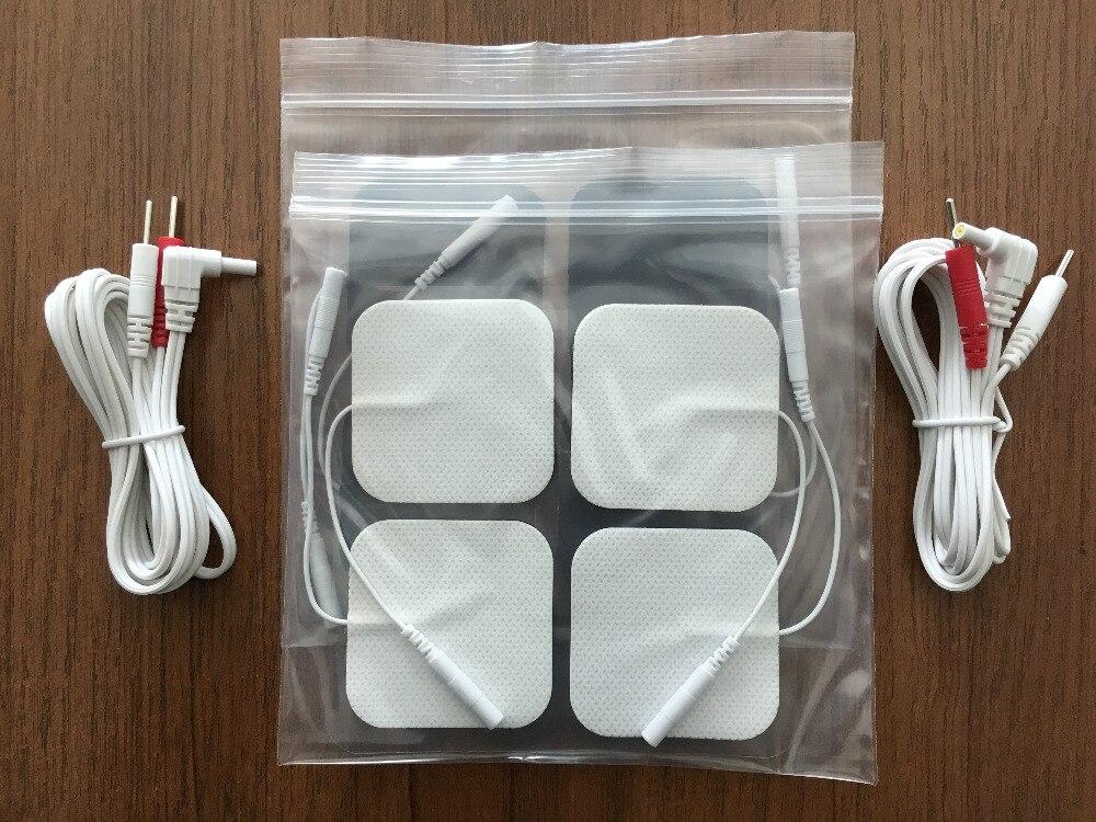 2 Piece DC 2.35mm 2-pin elektrod Membawa wayar / kabel dengan 3 pak - Penjagaan kesihatan - Foto 3