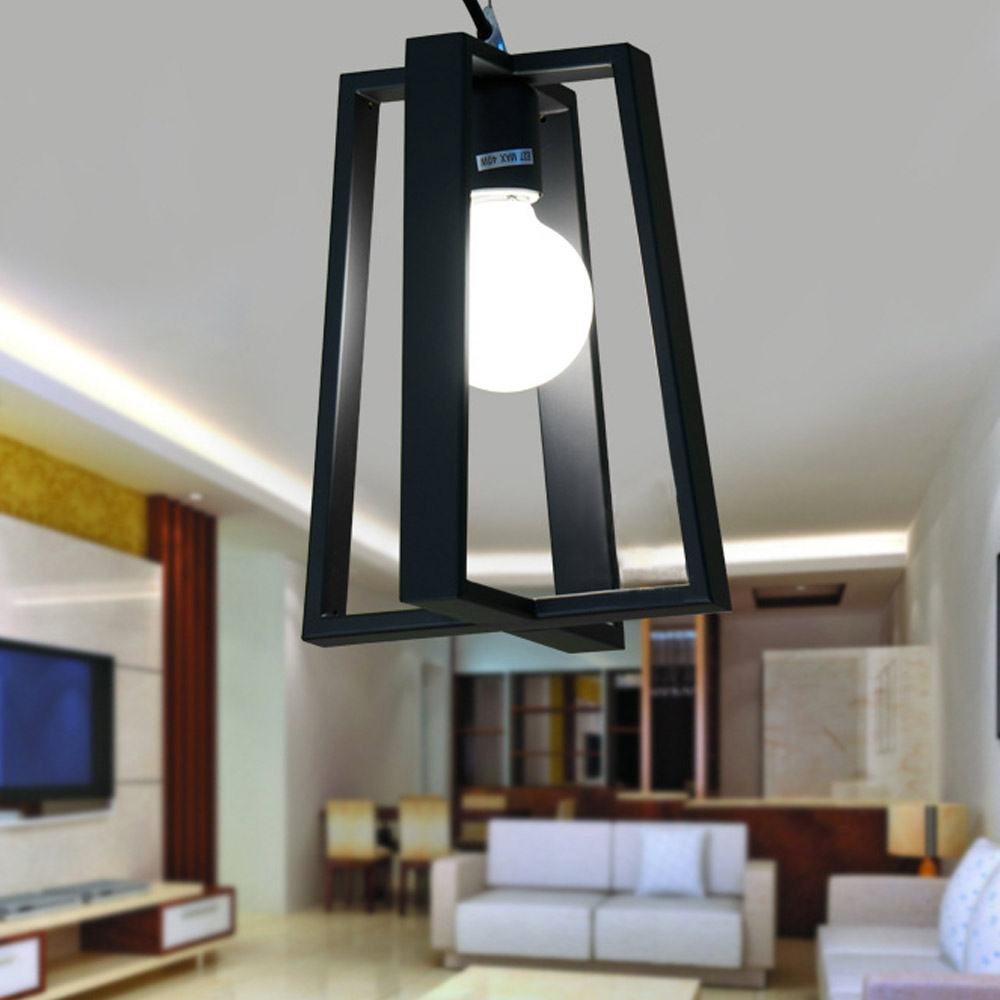 Modern led pendant light metal home/Industrial lighting hang lamp dining/living room bar cafe droplight fixture стоимость