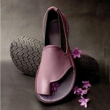 Size 35-43 Women Sandals Vintage Summer Women Shoes Genuine
