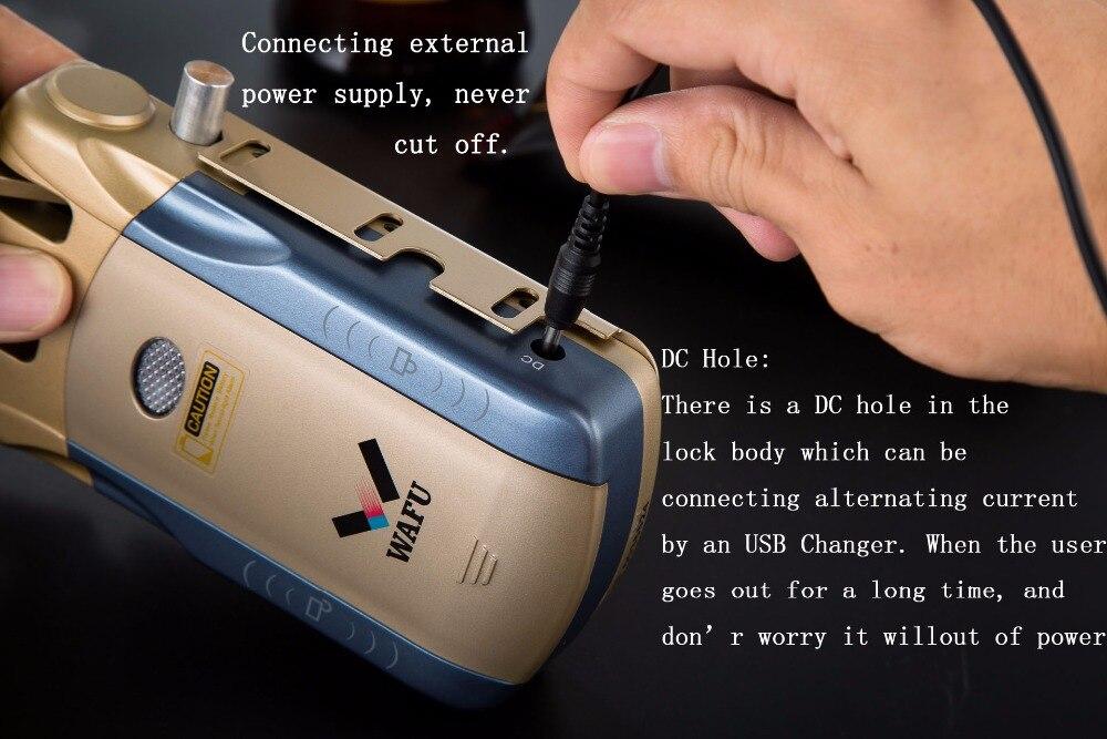 HTB12BfukZrI8KJjy0Fhq6zfnpXaH Wafu 010 Wireless Electronic Door Lock Keyless Invisible Intelligent Lock With Touch Locked&Unlock Button 4 Remote Control Keys