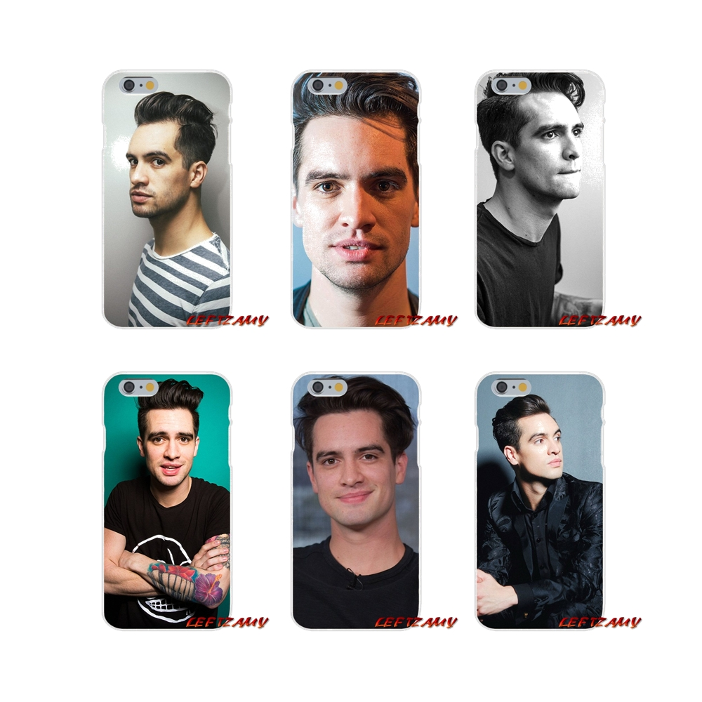 For Huawei G7 P8 P9 p10 Lite 2017 Honor 5X 5C 6X Mate 7 8 9 Y3 Y5 Y6 II Brendon Urie Panic At The Disco Soft Phone Case Silicone