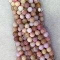 """Naturais Genuíno Peru Rosa Opal Rodada Solta 4-12mm Beads Fit Jóias Colares DIY ou Pulseiras 15 """"04090"""