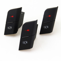 TUKE New 3 Pcs Driver Master Door Lock Control Button Switch For 2001 2008 For A4 S4 B6 B7 RS4 Seat Exeo 8ED 962 107 8ED962107