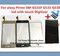 100%Original A LCD with Touch Scree Panel for Sumsung Galaxy Prime SM-G531F G531 G530 F /H LCD Digitizer Glass Lens Free Ship
