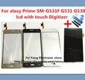 100% original um lcd com painel de toque scree para sumsung galaxy prime SM-G531F G531 G530 F/H LCD Digitador Lente de Vidro Navio Livre
