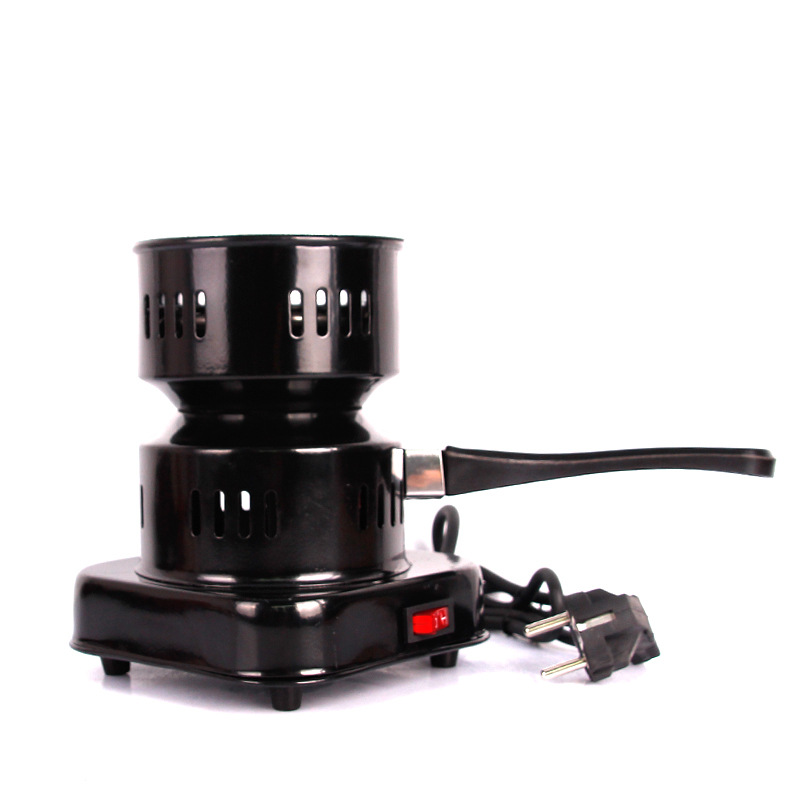 The new Shisha Naguile Tool stainless steel Electric Hookah Charcoal Starter/Burner Removable Tray Smoking Accessories