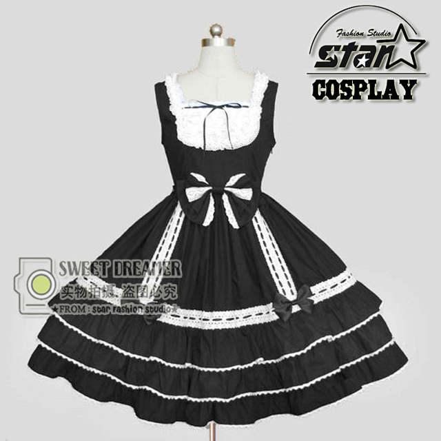 Online Shop Anime Maid Cosplay Children Halloween Lolita Dress Victorian  Gothic Ball Dress Girl Princess Birthday Party Dancing Costume  d6481860fe81