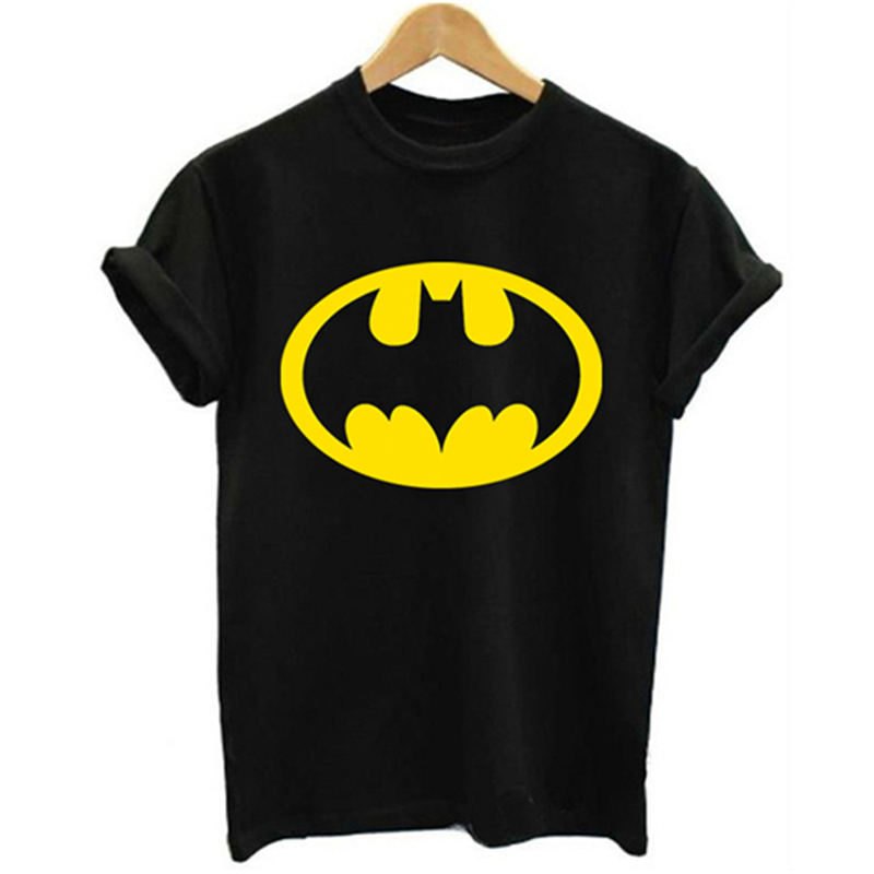 Hot Sale Batman Logo 3D Print T Shirts Fashion Youth All-Match Cool Slim Harajuku Black T-Shirt Popular Kawaii Casual Loose Tops