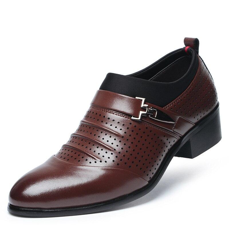 Genuine Leather Boys Dress Shoes