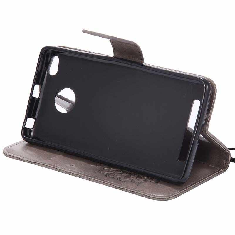 """Флип кожаный чехол для Fundas Xiaomi Redmi 3 3 S Чехол для coque Xiomi Redmi 3 Redmi3 кошелек Чехол подставка чехлы для телефонов 5"""""""