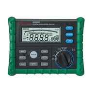 Mastech MS5203 Digital Megger Insulation Tester Resistance Meter Tecrep 10G 1000V AC/DC Voltage Continuity Electrical Test