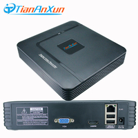 TIANANXUN Mini NVR Full HD 4 8 Channel Security CCTV NVR 1080P 4CH 8CH ONVIF 2