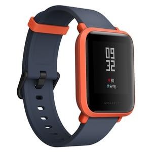 Image 3 - Смарт часы AMAZFIT Bip Youth Edition, GPS, GLONASS, Bluetooth 4,0, пульсометр, IP68, Android 4,4