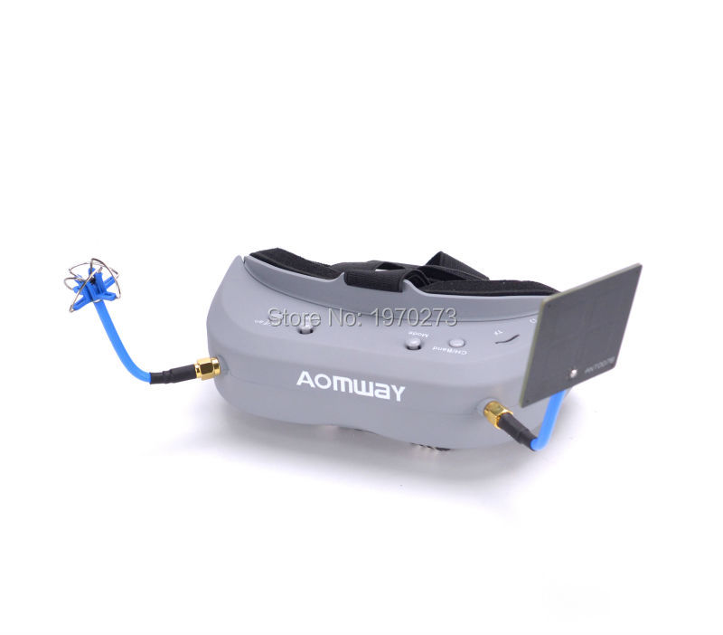 NEW Aomway Commander FPV Goggles 40CH 5 8G 854 480 Resolution FPV Video Headset Glasses Support