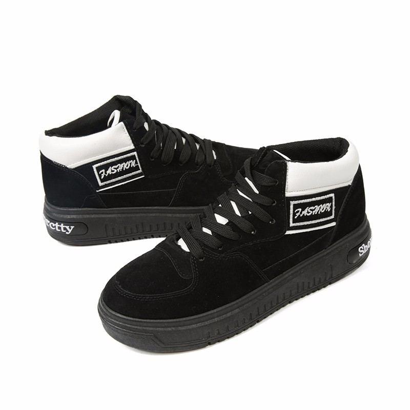Casual Women Shoes Lace Up Breathable Platform High Top Casual Shoes KUYUPP 2016 Spring Autumn Fashion Lace Up Skate Shoes YD158 (14)