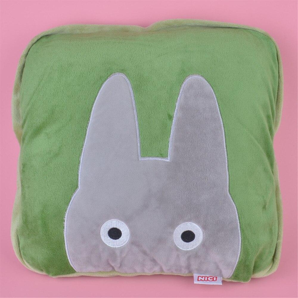 2 en 1 multi-fonction Totoro coussin en peluche, enfants enfant en peluche couverture oreiller cadeau livraison gratuite
