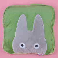 2 in 1 Multi function Totoro Plush Cushion, Kids Child Plush Blanket Pillow Gift Free Shipping