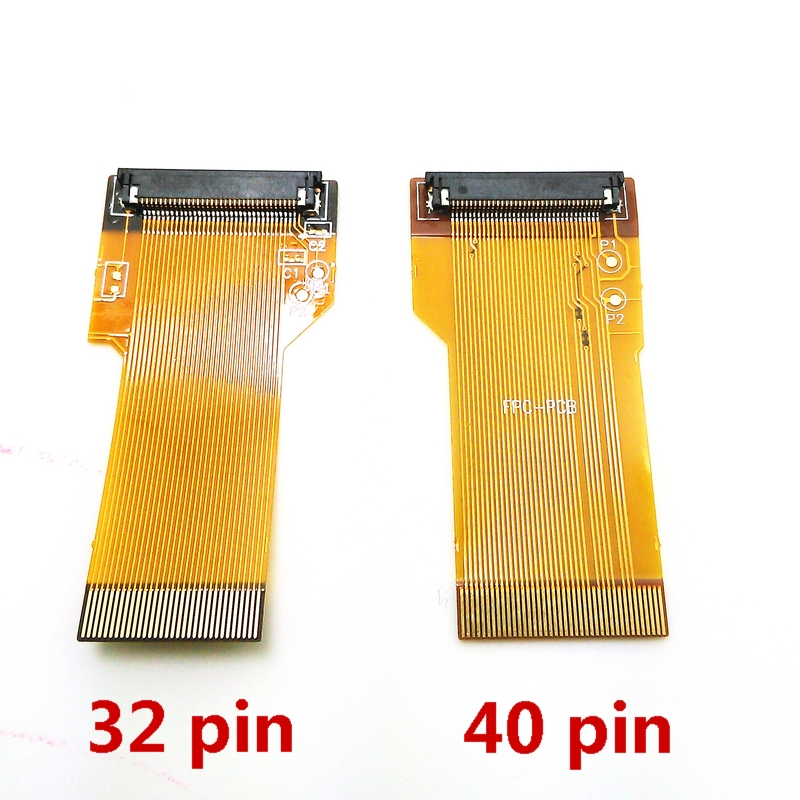 ribbon cable AGS 101 backlit adapter, 32 pin or 40 pin For NINTENDO game boy advance GBA
