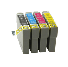 1set Compatible Ink Cartridge T0891 T0892 T0893 T0894 For Epson Stylus S20,SX100,SX105,SX200,SX205,X405,SX400 Printer цена 2017