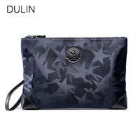 DULIN New Oxford Men's Clutch Bags Waterproof Camouflage Wallet Fashion Long Travel Multifunction Purse Men Male Wallets