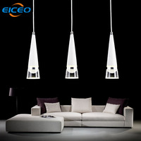 EICEO Clothing Store Aisle LED Chandelier Restaurant Chandelier Lighting Bar Cafe Glass Ball Lamps Modern