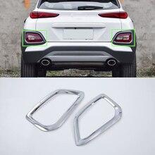 Auto Accessories ABS plastic rear foglight cover  For HYUNDAI KONA ENCINO 2018