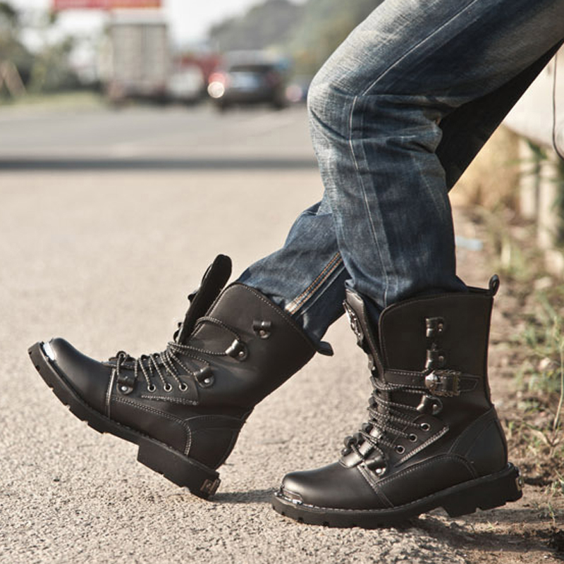 Aliexpress.com : Buy Retro Combat Boots Winter Plush British Style