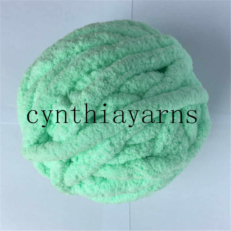 9bd9ad3a3c1 wholesale super thick arm knitting chunky chenille yarn polyester chenille  yarn blanket yarn 4pieces lot