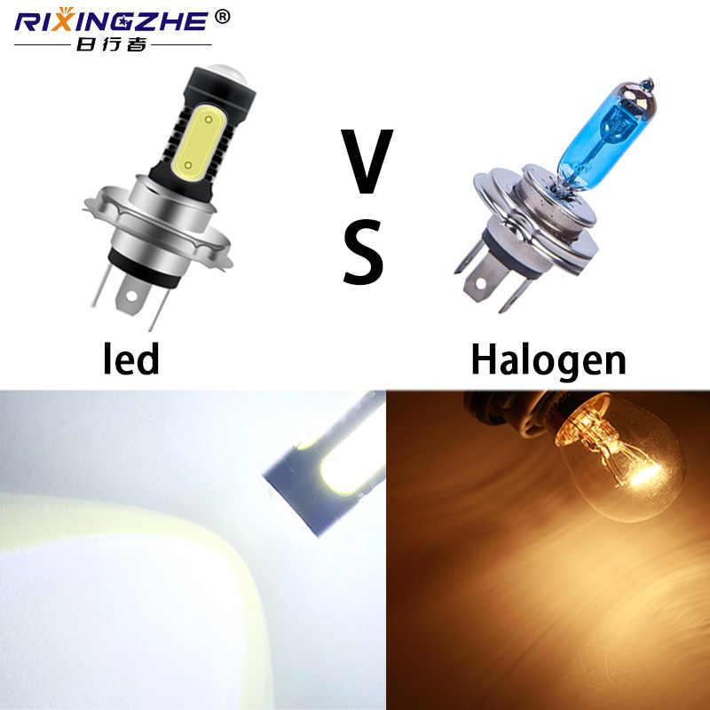 RXZ H16 5202 LED H1 H3 LED H4 LED H7 H8 H11 9005 9006 880 881 P13W HB3 HB4 7.5W COB LED Auto Fog Lamp Car Bulb Super White