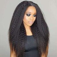 Kinky Straight Hair Bundles Brazilian Virgin Hair Weave Bundles 100% Coarse Yaki Human Hair Bundles Extensions Natural Color
