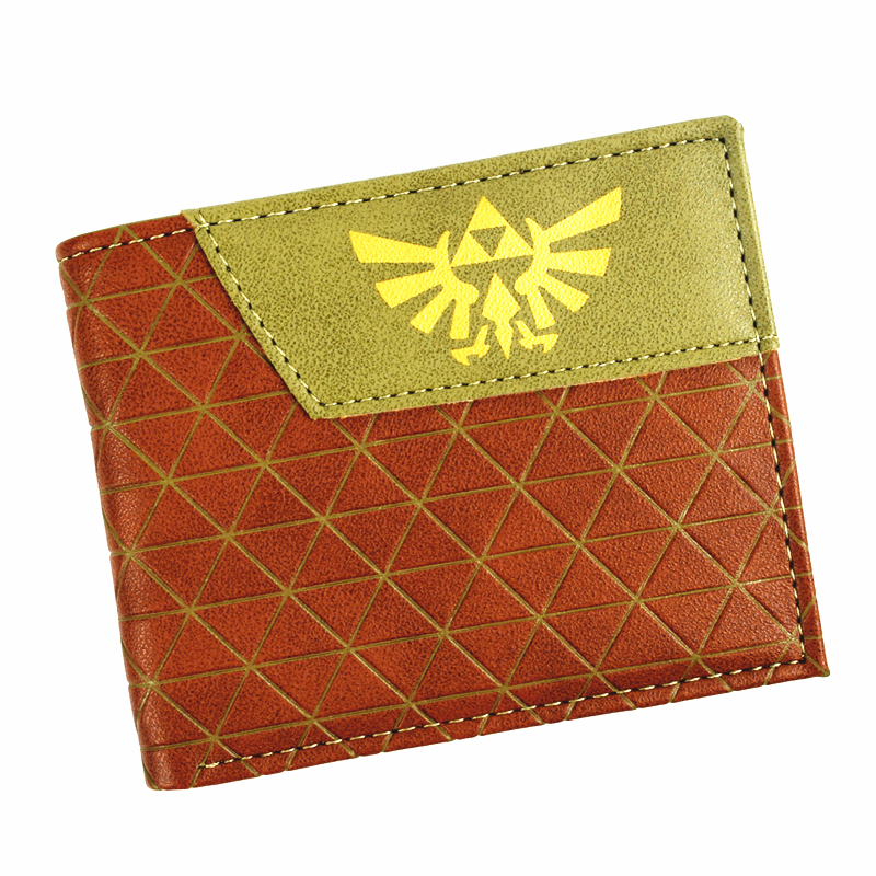 New Arrival Game Zelda Wallet Cute Men's Short Purse High Quality With Coin Pocket for Young and Boy
