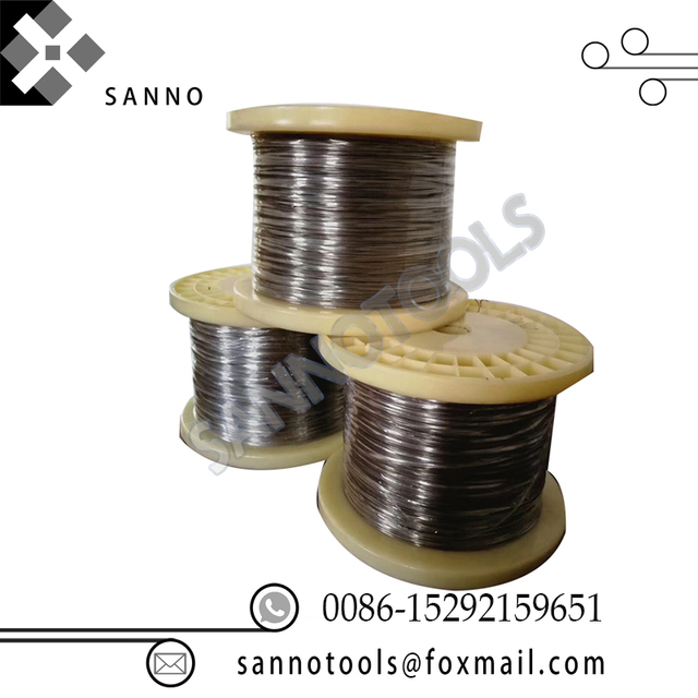 High quality 10 meters 0.006mm  0.009mm 0.01mm 0.03mm 0.05mm 0.08mm micron tungsten wire 99.95% welding wire