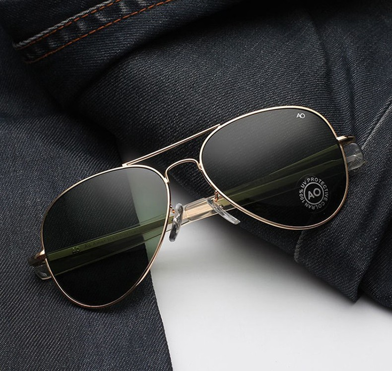 Apparel Accessories Men's Glasses Impartial Jackjad Army Military Macarthur Aviation Style Ao General Sunglasses American Lens Optical Glass Men Sunglasses Oculos De Sol