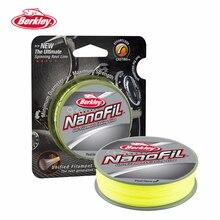Berkley NanoFil 150yd 137m Fishing Line  Hi-Vis Chart Uni-Filament Casting Line Zero-Memory High Strength/Diameter Ratio Pesca