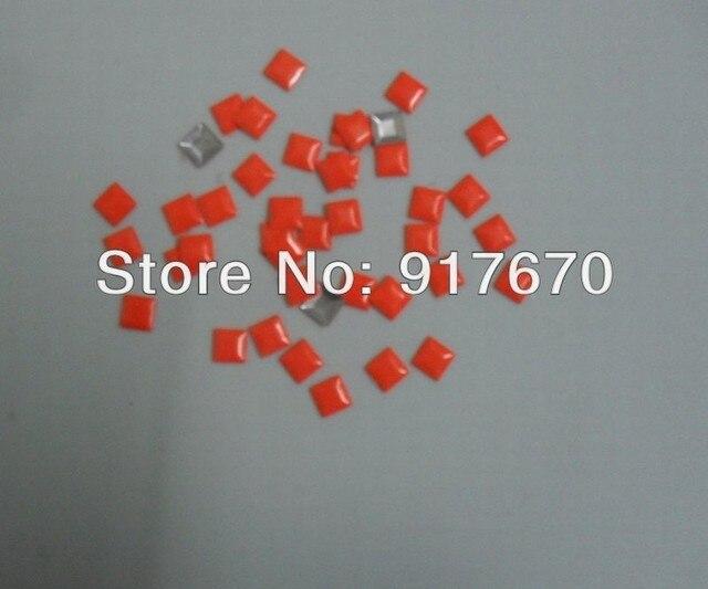 Online shop new cpam hot fix mm neon orange nailhead metal studs
