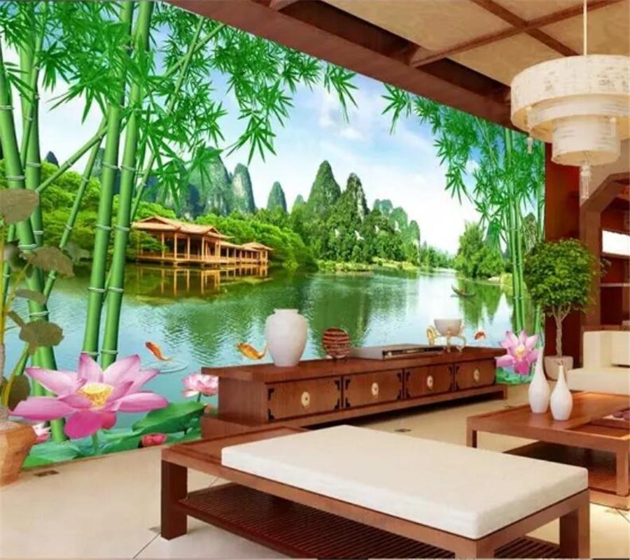 Niestandardowa Tapeta Beibehang 3d Duża Zdjęcie Murale