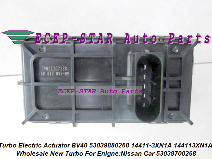 Turbo Electronic Actuator BV40 268 53039880268 53039700268 53039700231 14411-3XN1A 144113XN1A For Nissan Murano YD25DDT 2.5L DCI