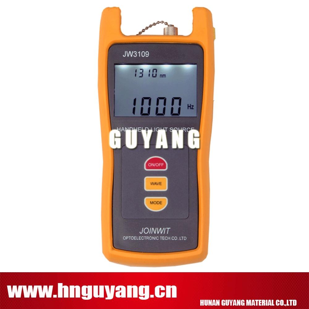 JW3109 SM&MM 4 Wavelength 850/1300/1310/1550nm Handheld Fiber Optical Light SourceJW3109 SM&MM 4 Wavelength 850/1300/1310/1550nm Handheld Fiber Optical Light Source