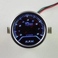 High Quality 52mm Car Meter Tacho Meter RPM Gauge Free Shipping