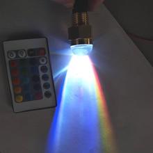 Водонепроницаемый светодиодный светильник RGB для морской лодки и яхты, 12 В, 12 Вт, с пультом дистанционного управления, подводный ландшафтный светильник