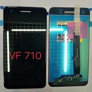 Image 2 - الأصلي LCD الأسود ل فودافون الذكية V8 VFD710 VFD 710 شاشة الكريستال السائل محمول بشاشة لمسية 5 بوصة محول الأرقام الجمعية استبدال أجزاء