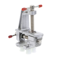 Mini Vise Tool Aluminum Small Jewelers Hobby Clamp On Table Bench Vice New Y103