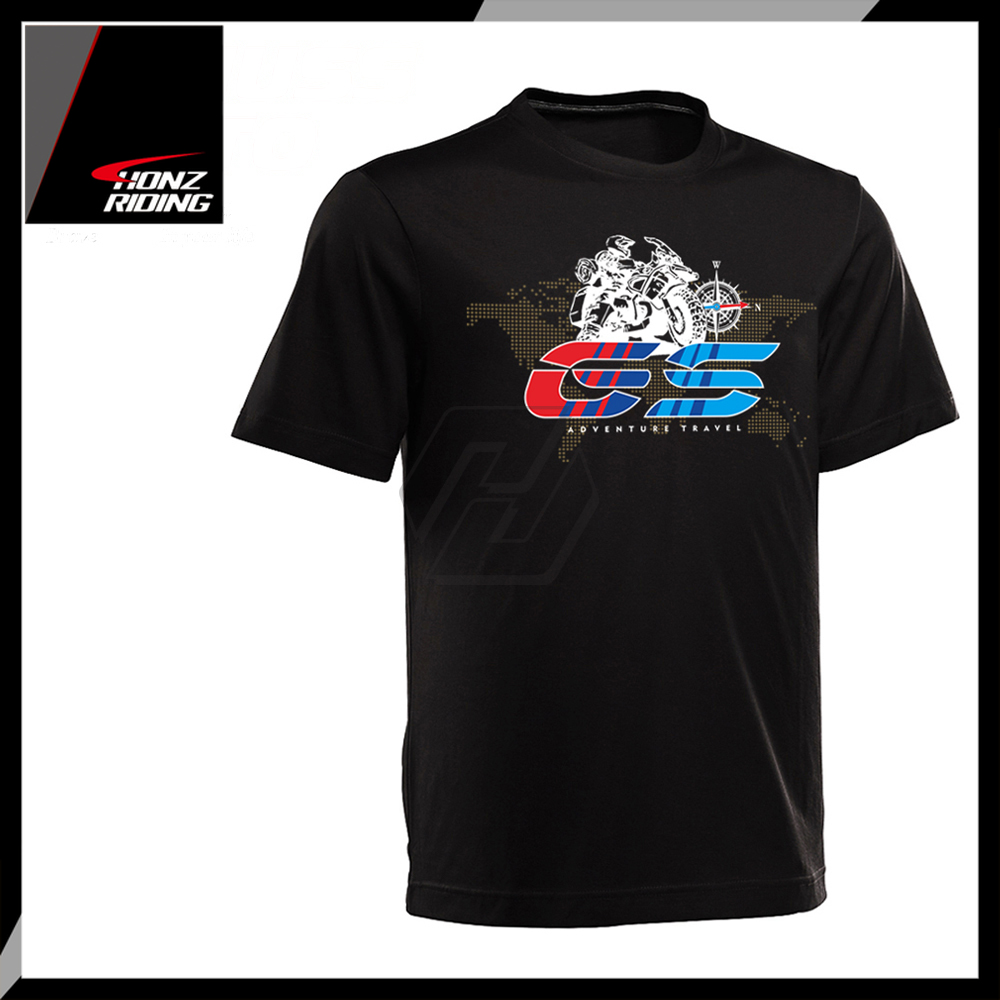 For BMW R1200GS R1200 GS Adventure T Shirt O-Neck Printed T-Shirt Short Sleeve T Shirt Case