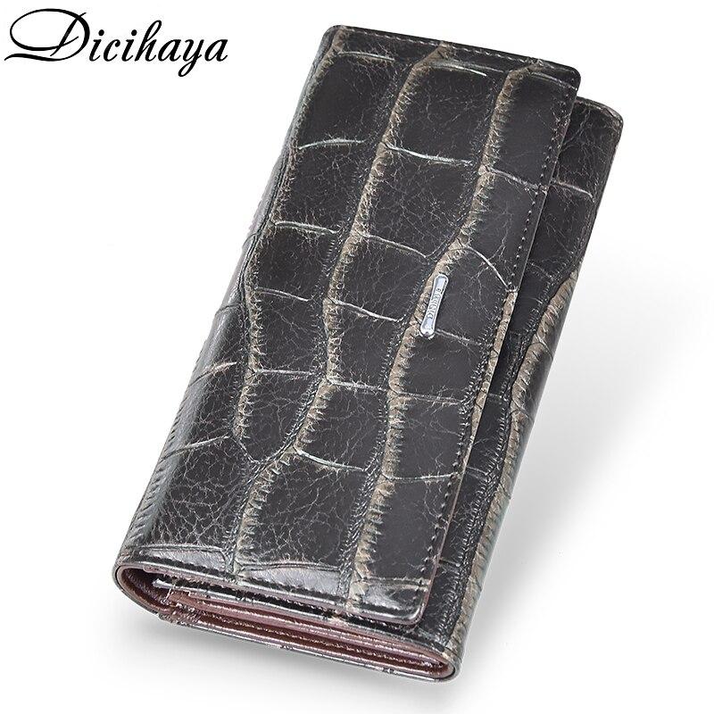 5f1c0aa7337d DICIHAYA для женщин женские кошельки Модные женские длинный кошелек молния  портмоне карты ID держатель Женский кошелек