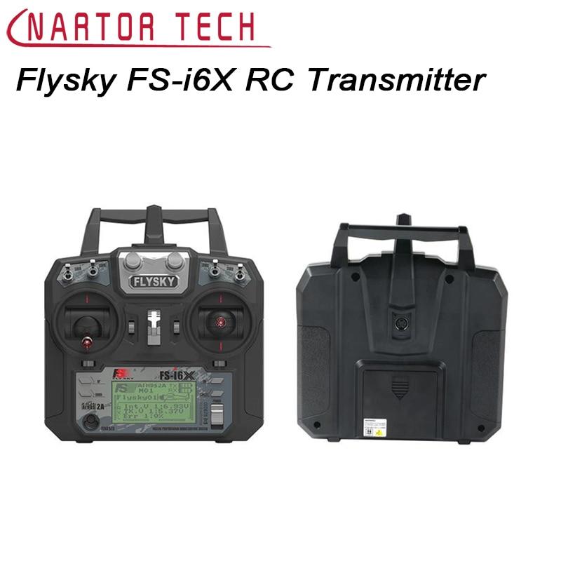 Free Shipping Original Flysky FS-i6X 2.4GHz 10CH RC Transmitter With FS-iA6B FS-iA10B FS-X6B Receiver For RC Quadcopter Mode 1/2