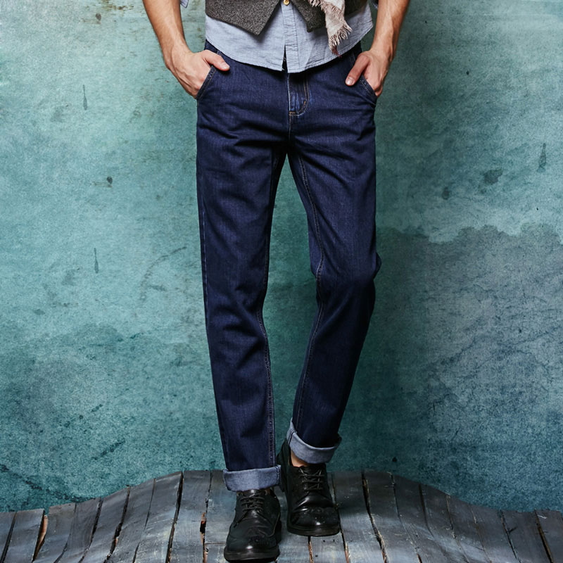 New Men Slim Straight Locomotive Jeans Denim Jeans Cowboy Fashion Business Designer Famous Brand Men's Jeans Trousers Pant 29-36 new men slim straight locomotive jeans denim jeans cowboy fashion business designer famous brand men s jeans trousers pant 29 36